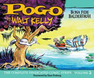Pogo complete strips Volume 2 cover by Walt Kelly