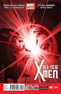 All-New-X-Men 4 Cover by Stuart Immonen