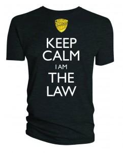 Keek Calm I Am The Law.