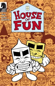 House of Fun cover by Evan Dorkin