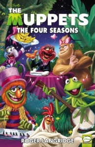 Muppets Four Seasons TP cover by Roger Langridge