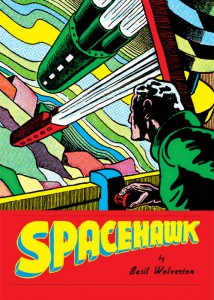 Spacehawk cover by Basil Wolverton