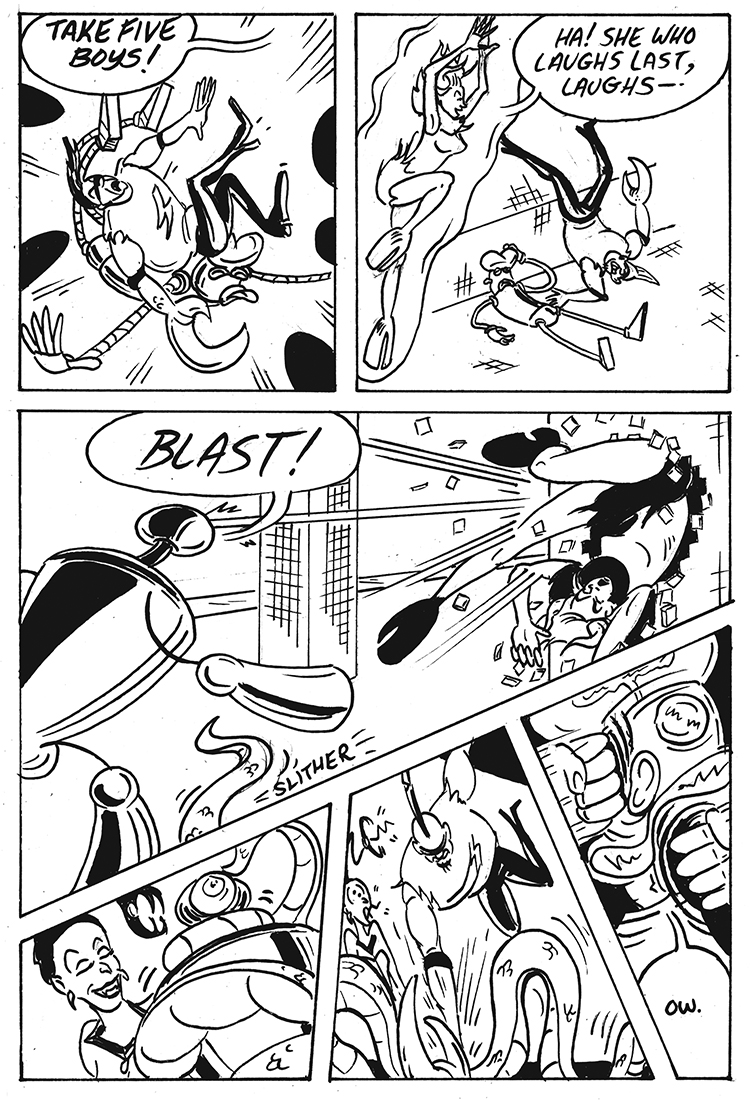 Dave Ortega's  Deathrace 2013 Page 3