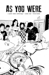 As You Were, a punk comix anthology Issue one