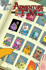 Adventure Time 24 Mike Holmes Cover