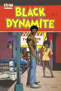 Black Dynamite 1 Jim Rugg Cover
