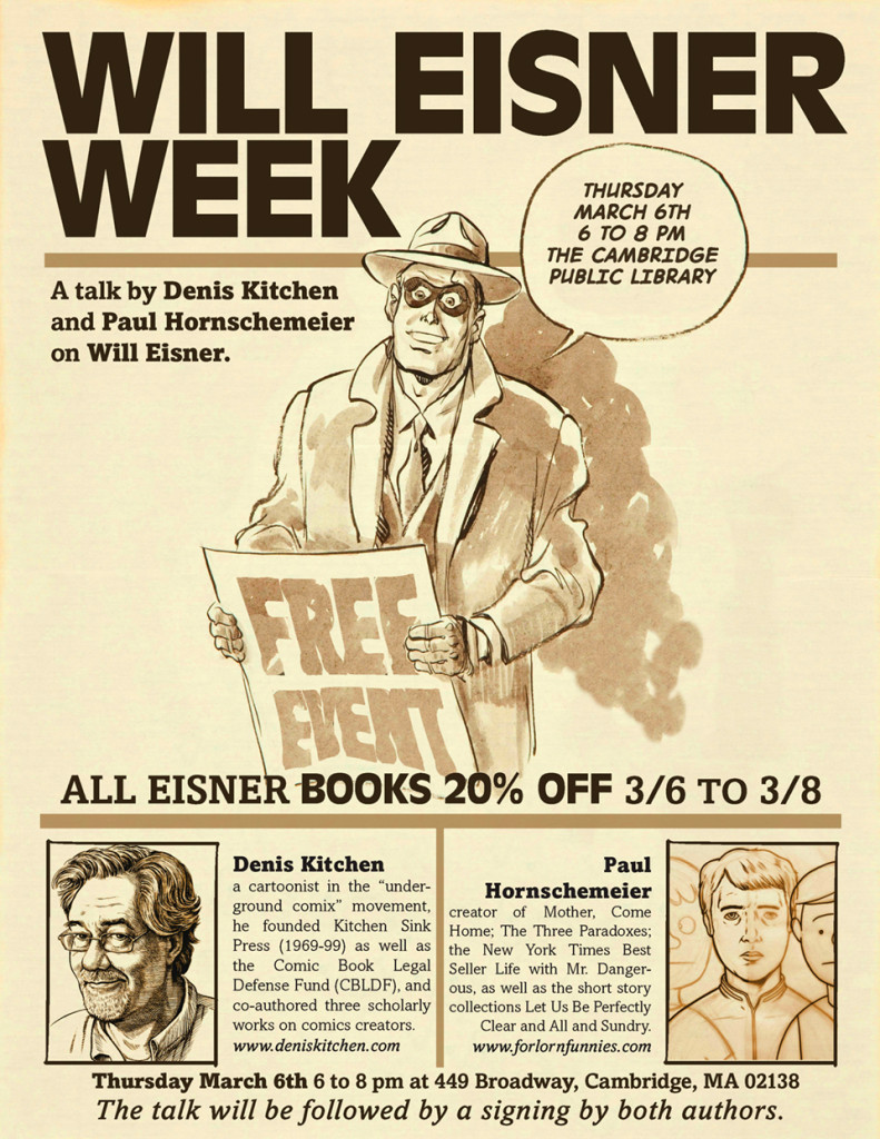 Eisner Event Talk
