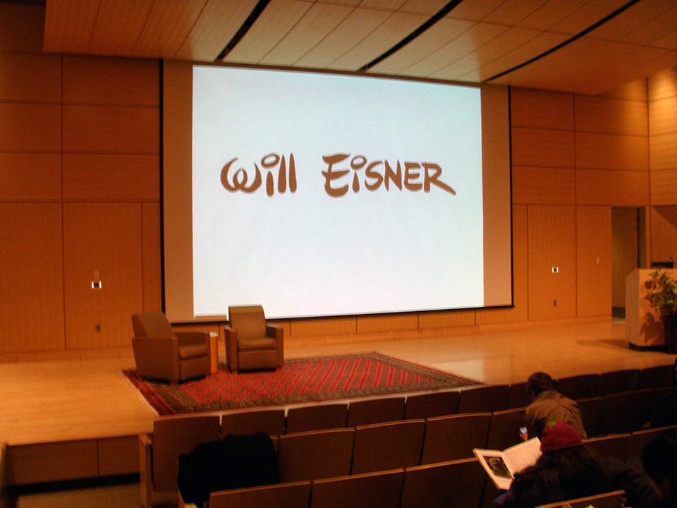 Will Eisner Event: Denis Kitchen and Paul Hornschemeier Talk