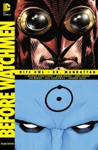Before Watchmen Nite Owl and Dr Manhattan