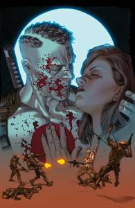 BloodShot 25 Cover Art by Lewis Larrosa