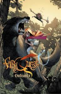 Fairy Quest Outcasts Cover by Humberto Ramos
