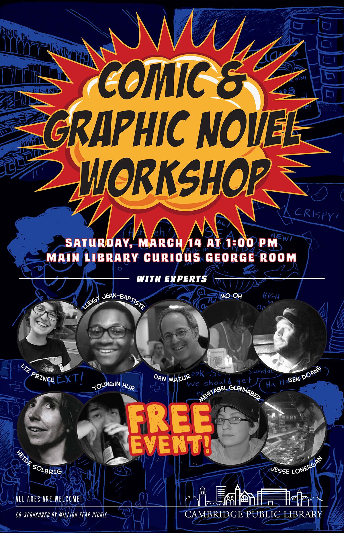 Comics Workshop 2015