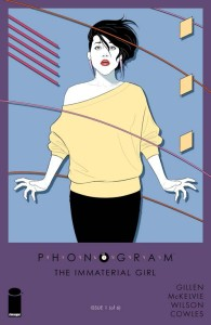 Phonogram The Immaterial Girl 1