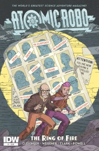 Atomic Robo The Ring of Fire 1