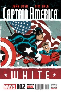 Captain America White 2