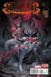Angela Queen of Hel 1