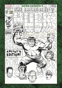 Herb Trimpe Artist Edition HC