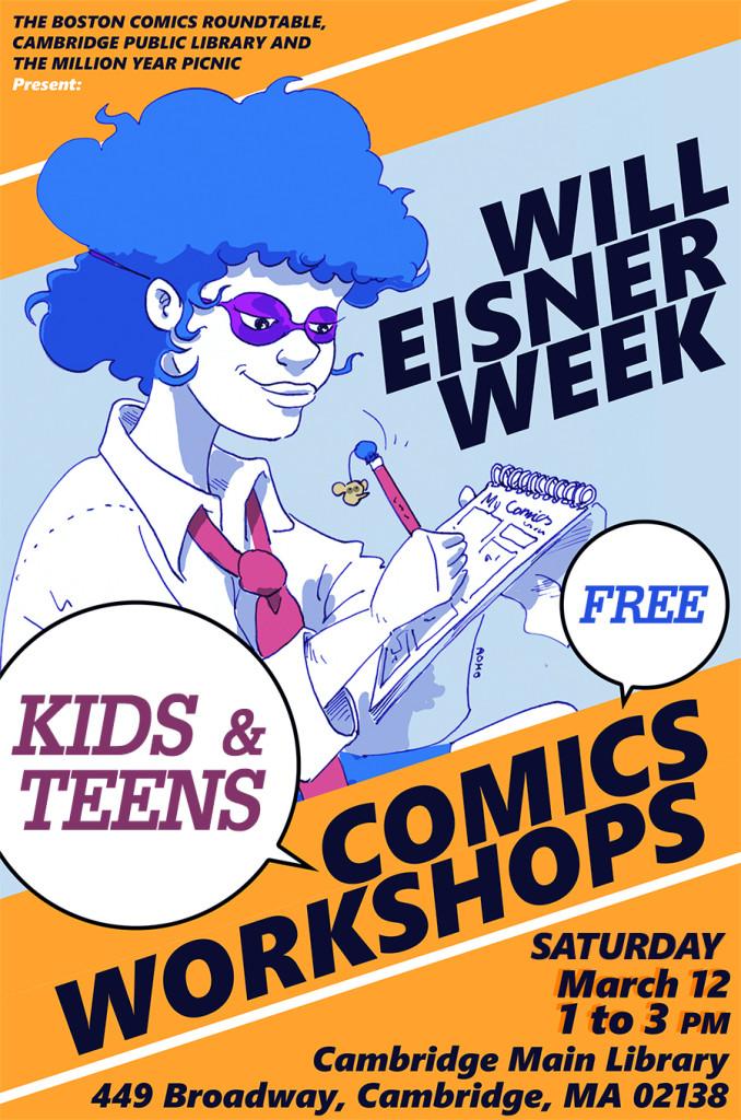 Will Eisner Poster Workshops Social