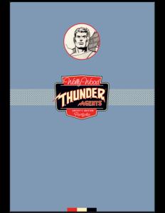 Wally Wood Thunder Agents Portfolio