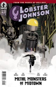 Lobster Johnson Metal Mosters of Midtown 1